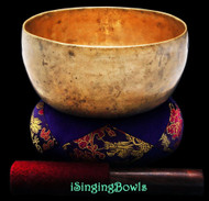 "Antique Tibetan Singing Bowl #8778 : Thado 7 1/4"", ca. 18th Century, F3 & B4."