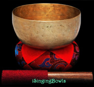 "Antique Tibetan Singing Bowl #8775 : Thado 6 3/8"", ca. 19th Century, F3 & A5."