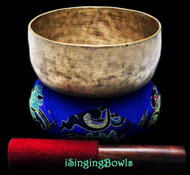 "Antique Tibetan Singing Bowl #8772 : Thado 6 3/8"", ca. 19th Century, B3 & D#6."