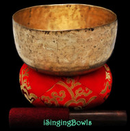 "Antique Tibetan Singing Bowl #8888 : Thado 7 1/2"", ca. 18th Century, F3 & A#4."
