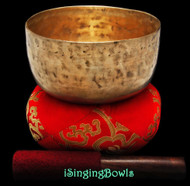 "Antique Tibetan Singing Bowl #8885 : Thado 6 1/2"", ca. 18th Century, F3 & A#4"