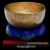 "Antique Tibetan Singing Bowl #8774 : Thado 7 3/4"", ca. 17th Century, E3 & G#5"