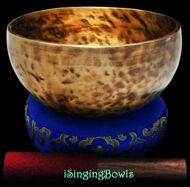 "New Tibetan Singing Bowl #9239 : Thadobati 7 7/8"", F#3 & C5."