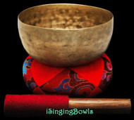 "Antique Tibetan Singing Bowl #9254 : Thado 6 3/8"", ca. 18th Century, D#3 & A4."