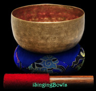 "Antique Tibetan Singing Bowl #9258 : Thado 6 3/4"", ca. 18th Century, C#3 & G4."