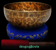"New Tibetan Singing Bowl #8308 : Thadobati 7 1/2"", F3 & A#5."