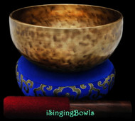"New Tibetan Singing Bowl #9079 : Thadobati 7 1/2"", F#3 & B5."