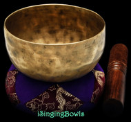 "Antique Tibetan Singing Bowl #9275 : Cup 5 3/4"", circa 19th Century, D#4 & A5."