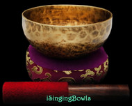 "New Tibetan Singing Bowl #9065 : Thadobati 6 1/8"", C#4 & G5."