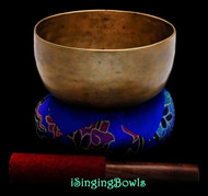 "Antique Tibetan Singing Bowl #9319: Thado 6 5/8"", ca. 18th Century, F3 & B4 ."
