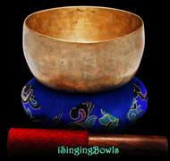 "Antique Tibetan Singing Bowl #9322 : Thado 6 1/2"", ca. 18th Century, G3 & C#5."