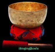 Antique Tibetan Singing Bowl #9357