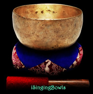 Antique Tibetan Singing Bowl #9527