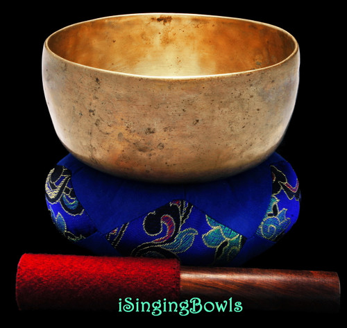 Antique Tibetan Singing Bowl #9356