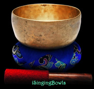"Antique Tibetan Singing Bowl #9356 : Thado 6 7/8"", ca. 18th Century, F#3 & C5."
