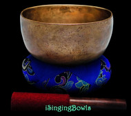 "Antique Tibetan Singing Bowl #9324 : Thado 7 "", ca. 18th Century, F#3 & C5."