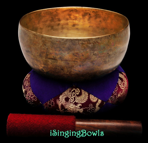 Antique Tibetan Singing Bowl #9339