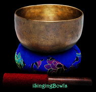 "Antique Tibetan Singing Bowl #9522 : Thado 6 5/8"", ca. 18th Century, F#3 & C5."