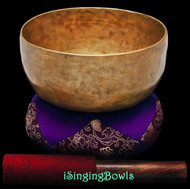 "Antique Tibetan Singing Bowl #9334 : Thado 6 5/8"", ca. 19th Century, A3 & D#5."