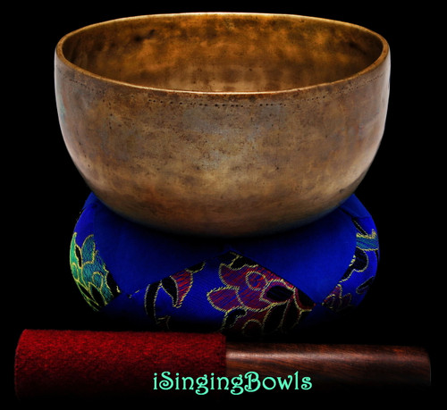 Antique Tibetan Singing Bowl #9532
