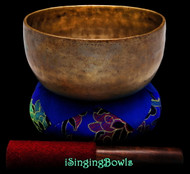 "Antique Tibetan Singing Bowl #9532 : Thado 7"", ca. 18th Century, A3 & D#5."