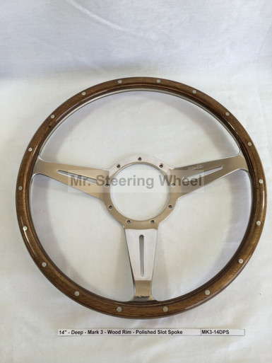 Moto-Lita Mark 3 Wood Steering Wheel