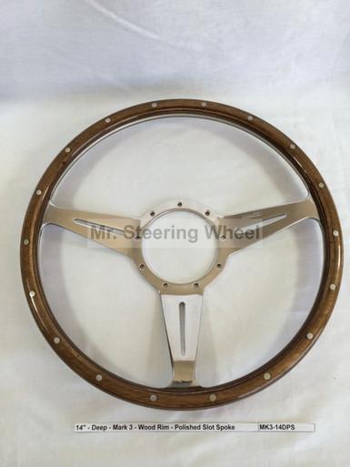 Moto-Lita Mark 3 Wood Steering Wheel