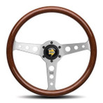 MOMO Indy 350mm Wood Steering Wheel - IND35ZB0P