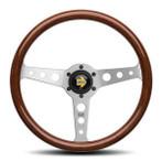 MOMO Indy 350mm Wood Steering Wheel - IND35MA0P