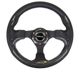 NRG 320mm Sport Steering Wheel w/ Carbon Look (ST-001CFL)