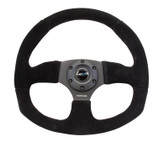 NRG  320MM SPORT SUEDE STEERING WHEEL OVAL