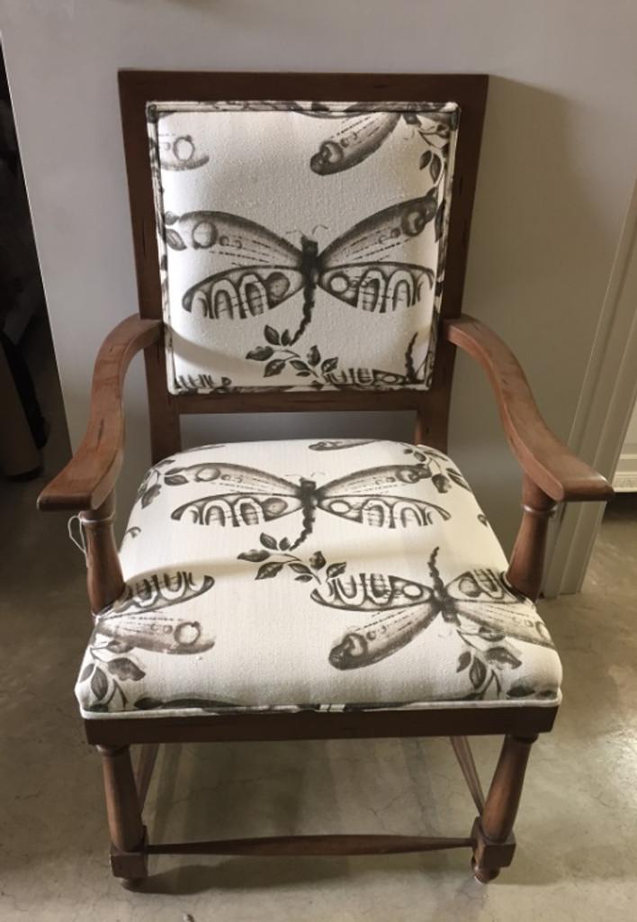 Fletcher Dining Armchair - Antique Oak /F172