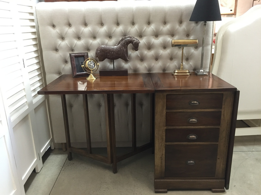 Architects Folding Desk - Antique Oak /TKB/TKB-D