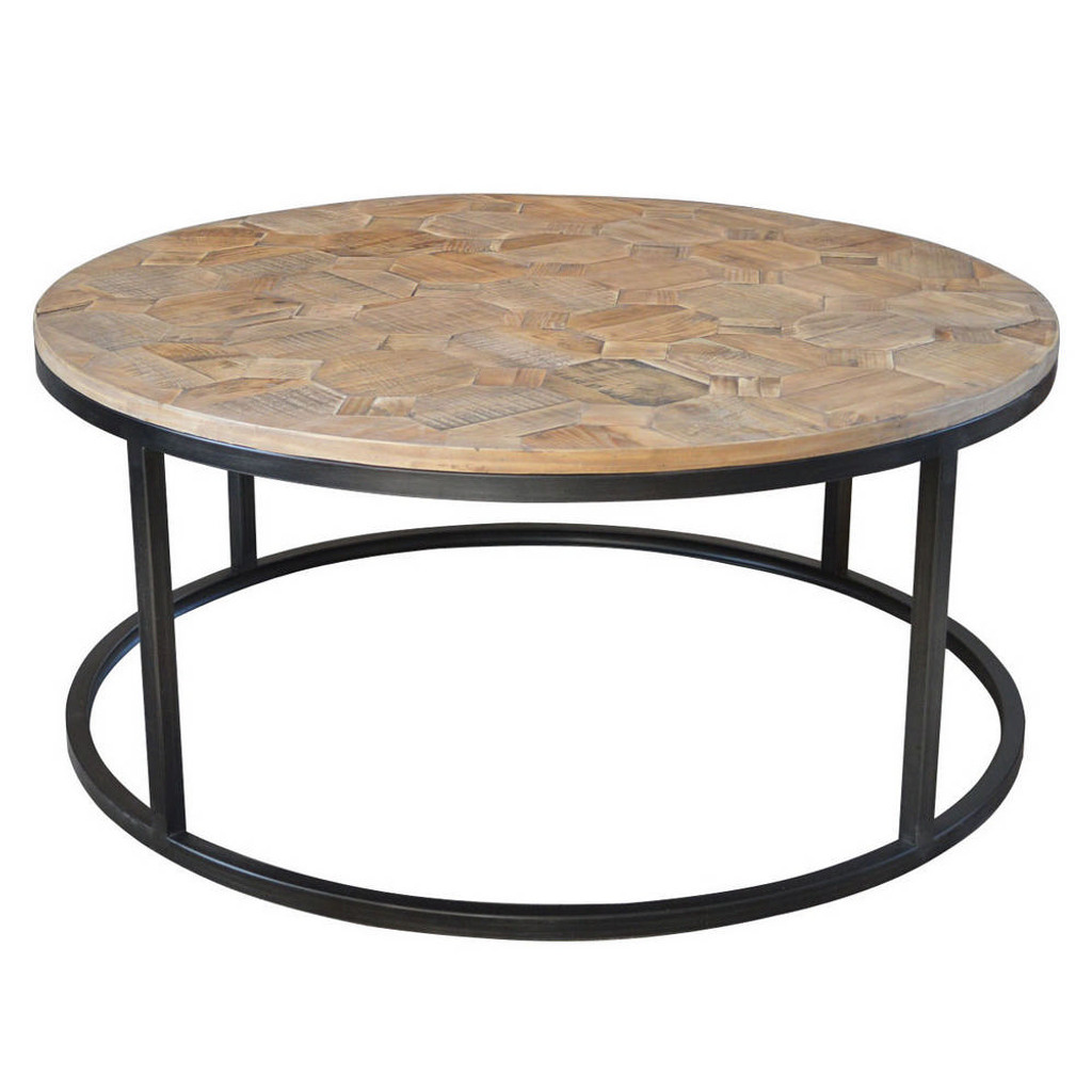 Wisconsin Round Coffee Table