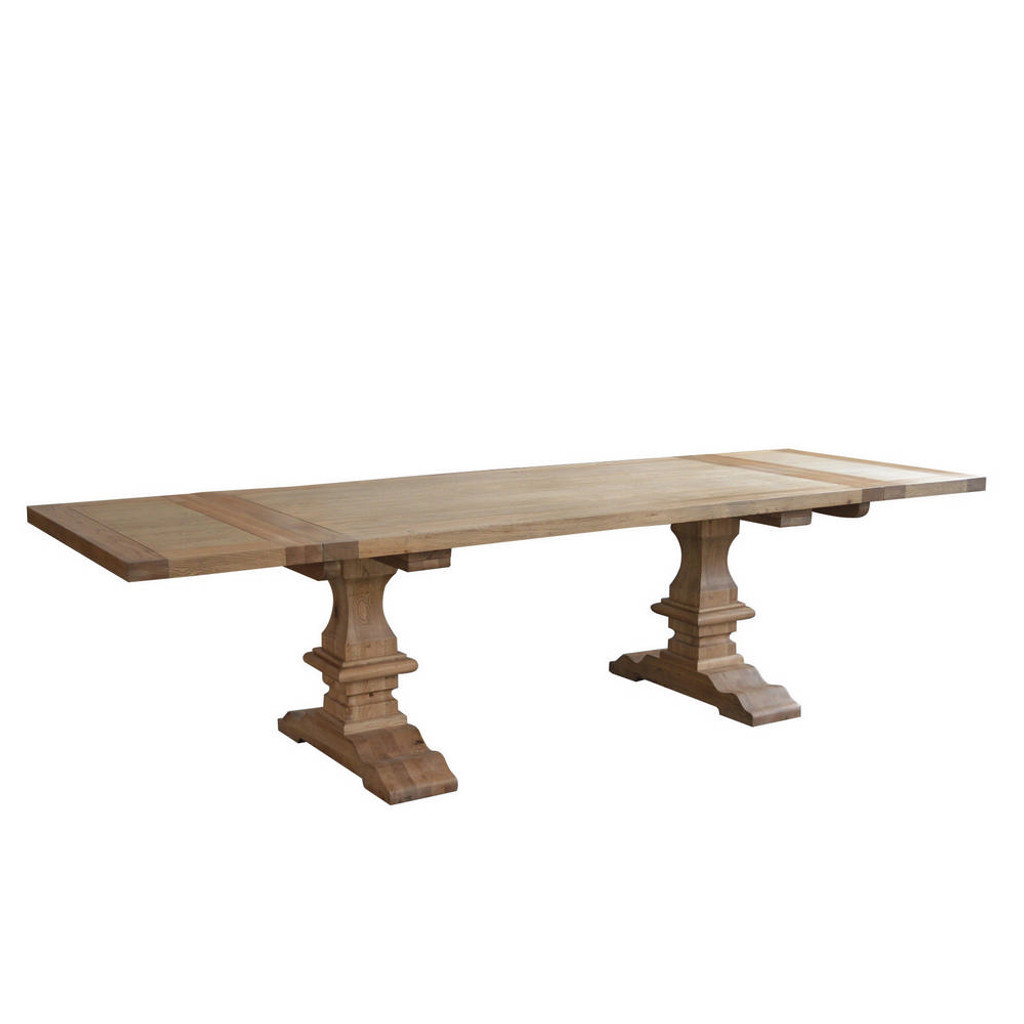 Trestle Extension Dining Table: Villemont Extension Trestle Dining Table