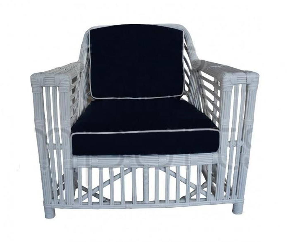 Ballina Arm Chair - White