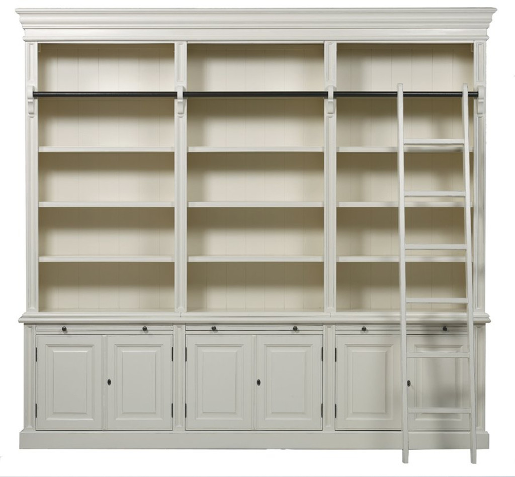 Bella house classic 6 door bookcase ladd french modern for Classic 6 house