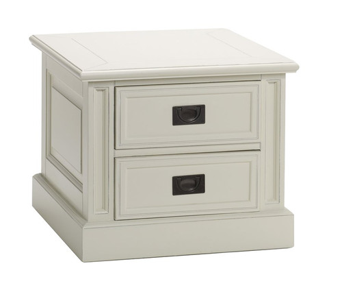 Classic End Table 2 Drawer