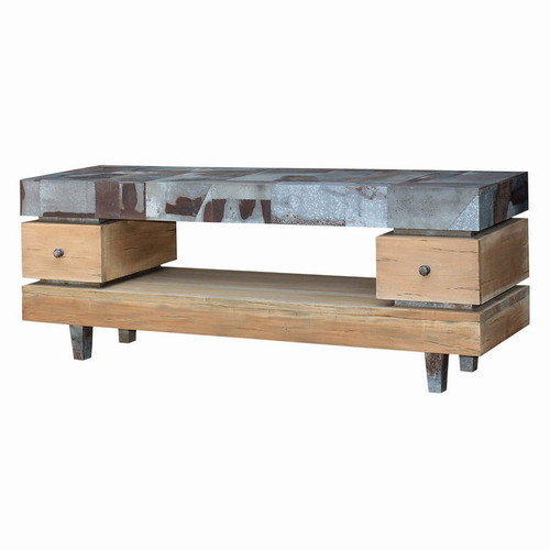 Remi TV Stand Large - Size: 76H x 201W x 51D (cm)