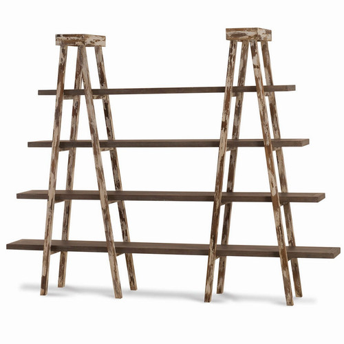 Taylor Double Ladder Shelf - Any Colour
