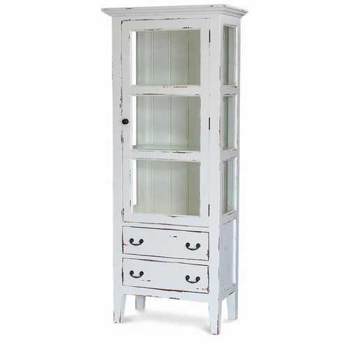 Aries Glass Utility Cabinet - Any Colour