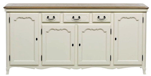 Chateau 4 Door Sideboard - A/Cream