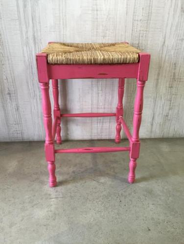 Veranda Counter Stool - Rose Heavy Distressed