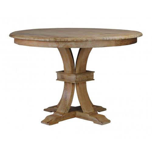 Florida Round Dining Table Whitewash