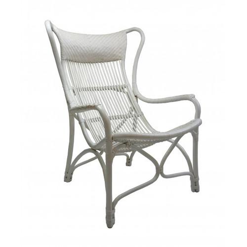 Como Lounge Chair - White