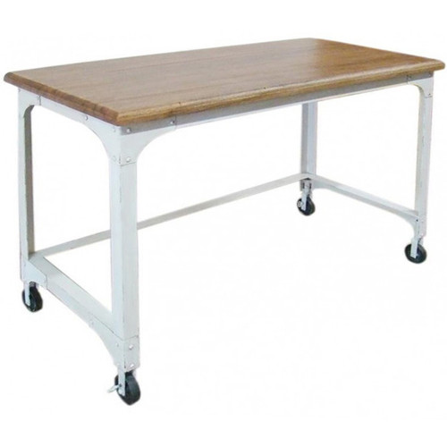 Industrial Coffee Table White: Industrial 2 Draw File