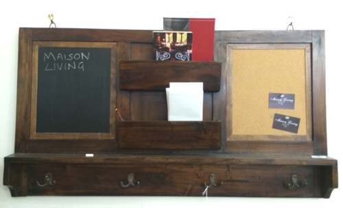 Message Board - Teak Brown