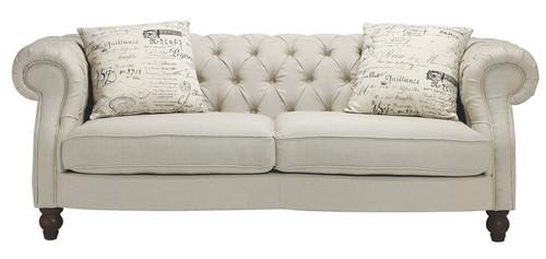 Vivienne Linen 2.5 Seater Sofa