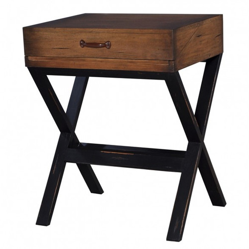 Conservatory Desk - Black Heavy Distressed /ATO/D00