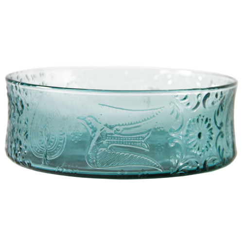 Tapestry Bowl - Turquoise